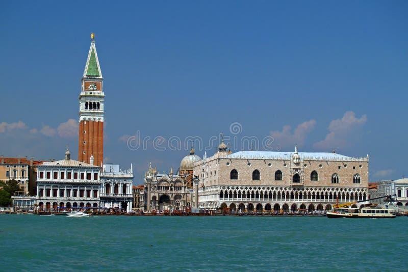 łódka widok Wenecji obraz stock