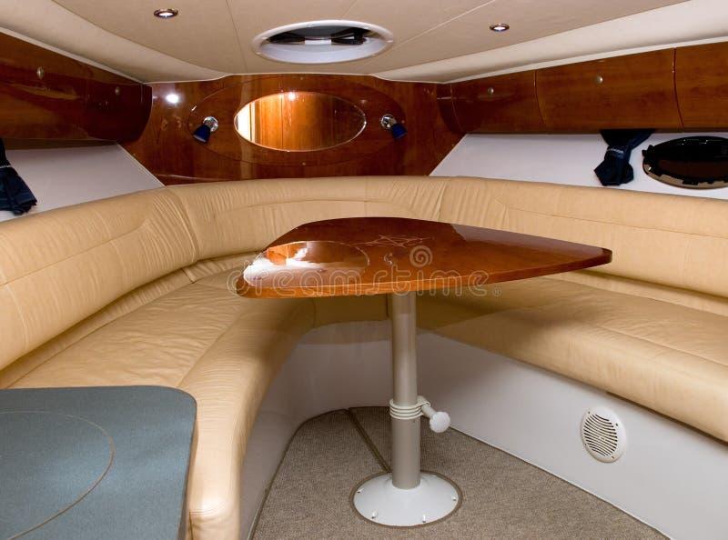 łódka wnętrze obraz royalty free