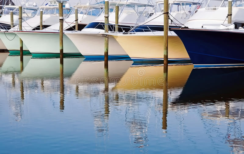 łódkowaci odbicia zdjęcie royalty free
