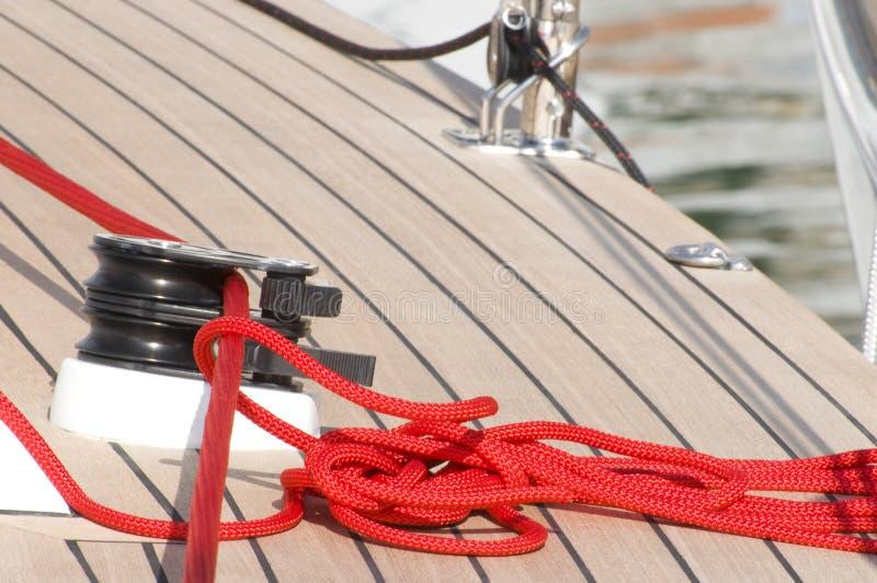 łódkowata czerwona arkana obrazy stock