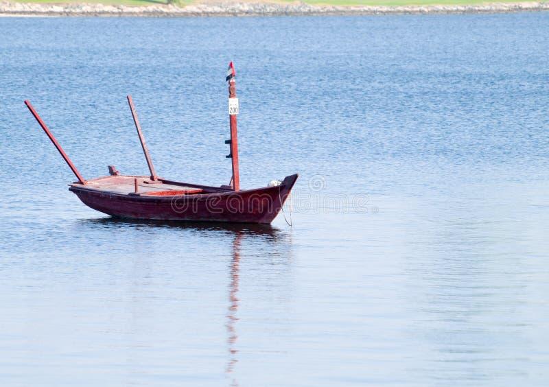 Łódkowata przejażdżka wokoło Dubai zatoczki fotografia stock