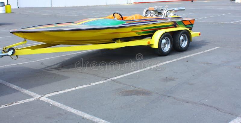 łódkowata przyczepa obrazy stock