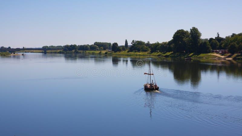łódkowata rzeka obraz royalty free