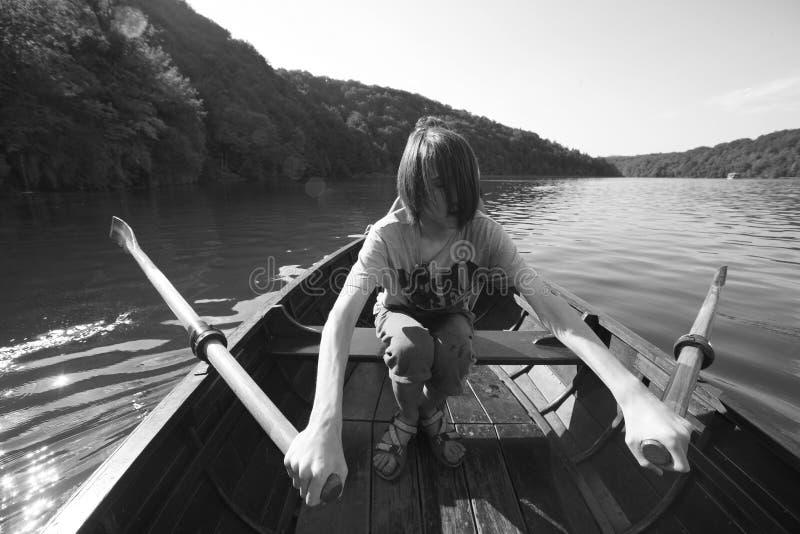 Łódkowata wycieczka obraz stock