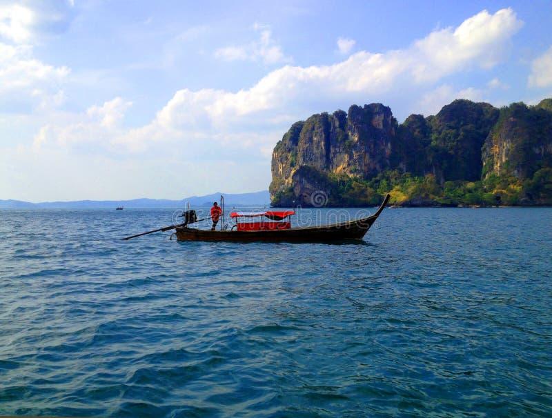 Łódkowata wyspy podróż obraz royalty free