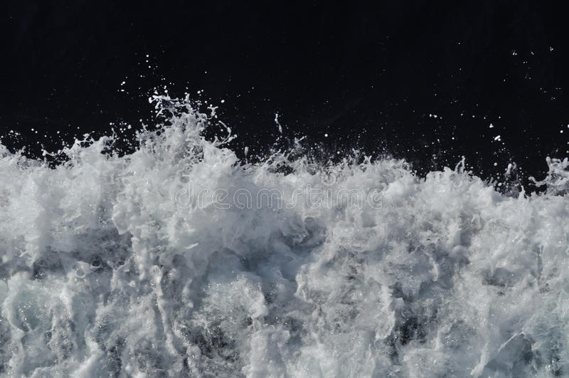 łódkowate fala obrazy stock