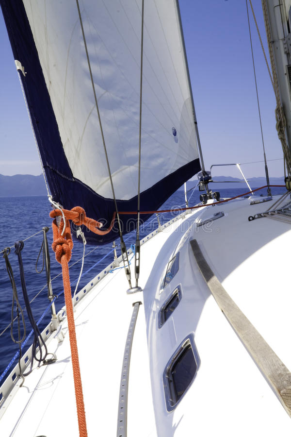 łódkowaty żeglowanie obrazy royalty free