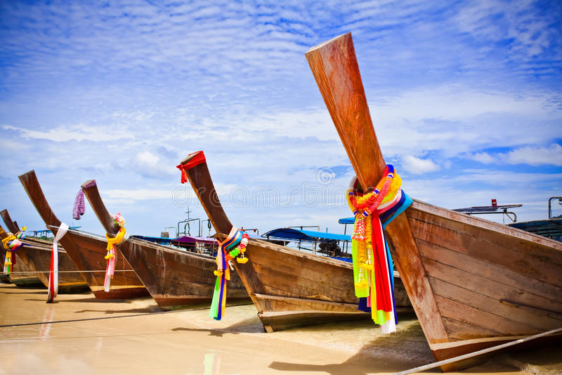 łódkowaty długi ogon fotografia stock