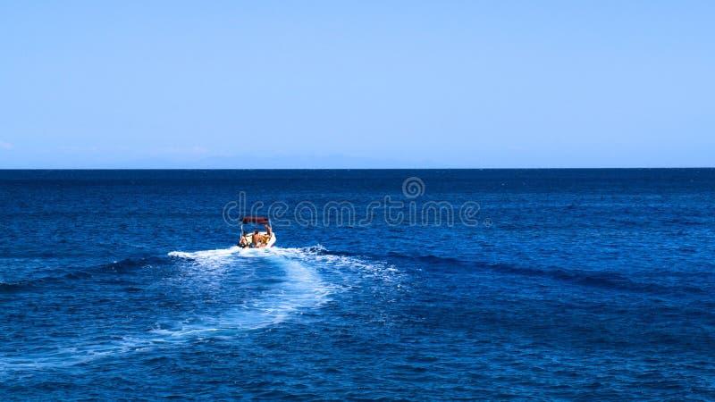 Łódkowaty horyzont zdjęcie stock