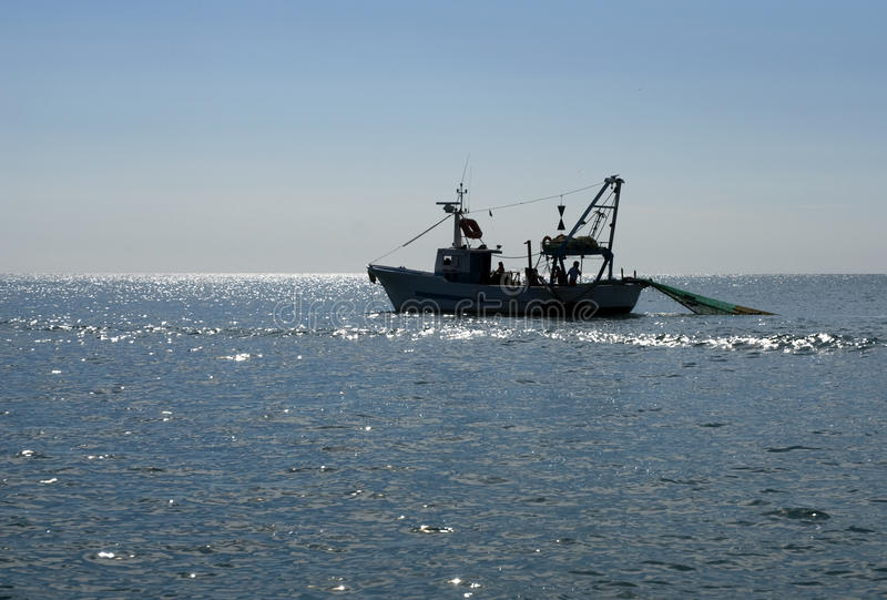 łódkowaty połów zdjęcie royalty free