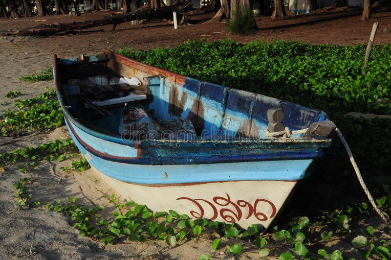 łódkowaty rybak s obraz royalty free