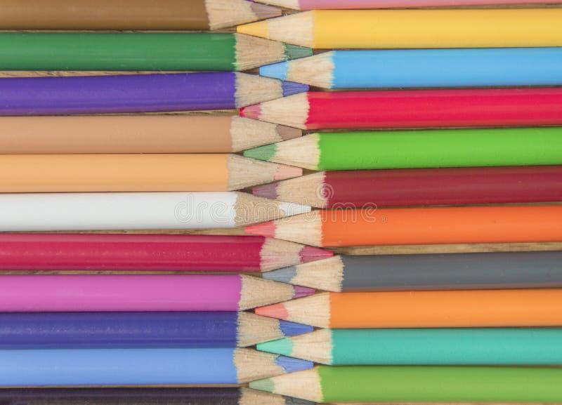 Łączyć ołówki zdjęcia stock