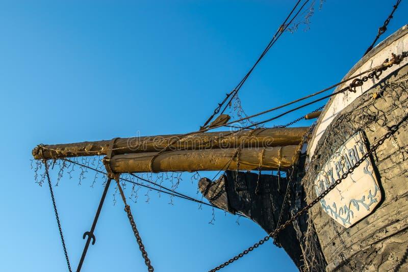 Łęk Zapadnięty statek zdjęcie royalty free