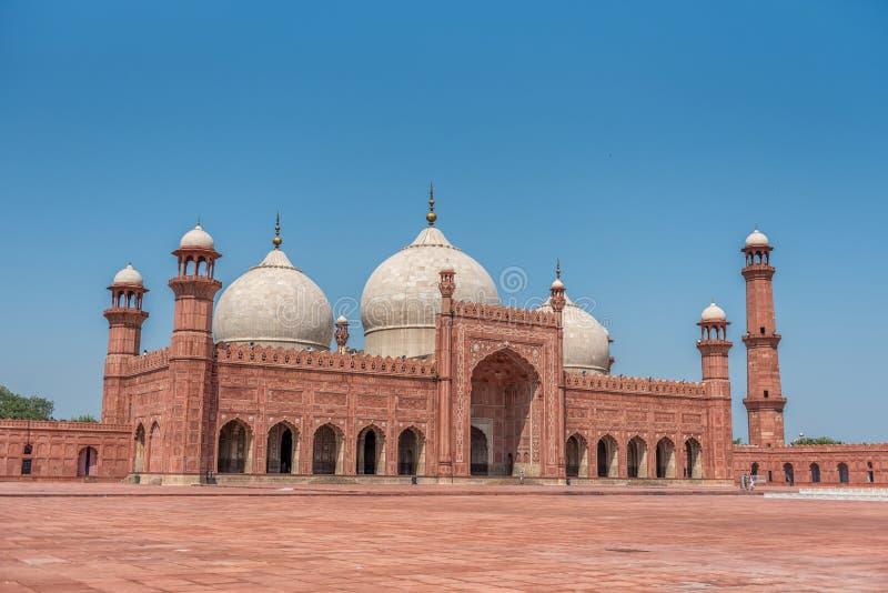 łękowaty badshahi Lahore meczetowy Pakistan Punjab obrazy stock