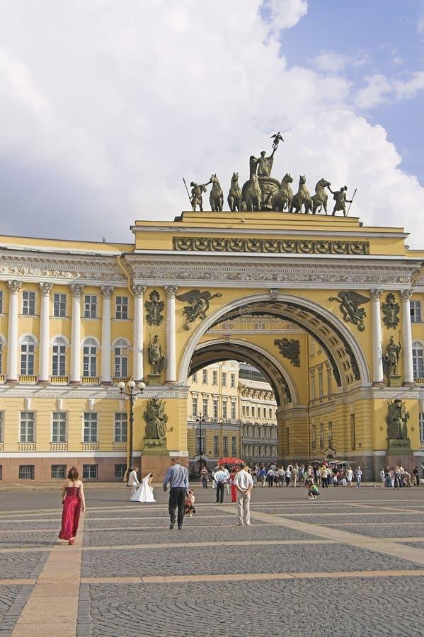 Łękowaty budynek zdjęcie royalty free