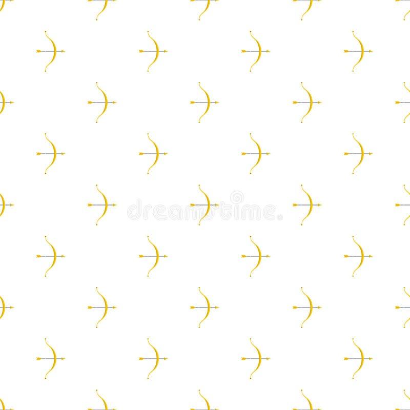 Łęku deseniowy bezszwowy wektor ilustracja wektor
