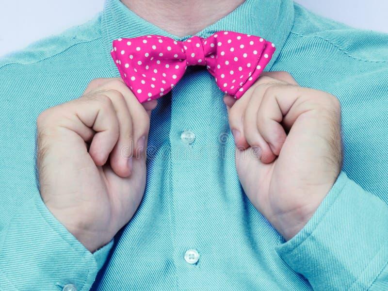 Łęku krawat obrazy stock