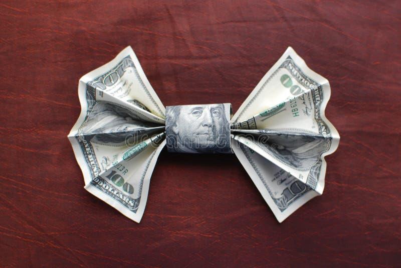 łęku origami krawat zdjęcia stock