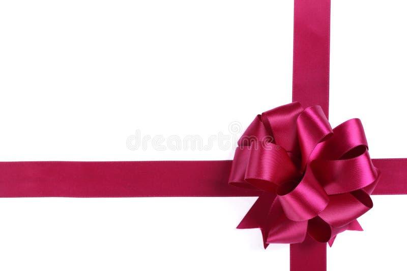łęku purpur faborek zdjęcia royalty free