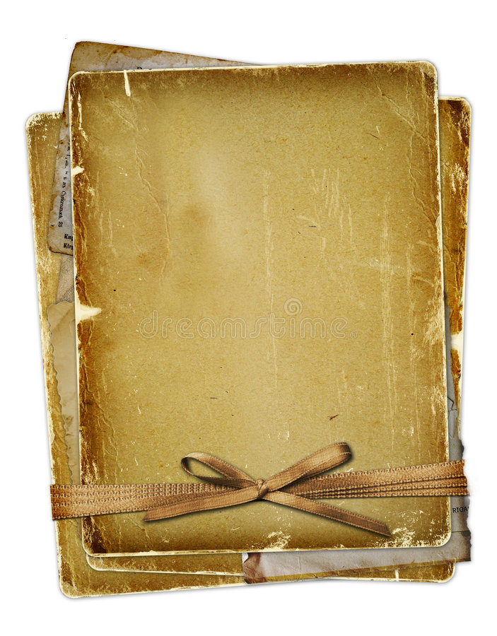 łęku starzy strony faborki ilustracja wektor