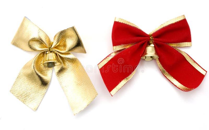 łęku złota czerwień zdjęcie stock