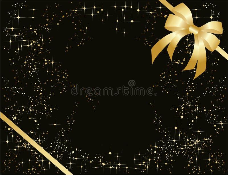 łęku złoto royalty ilustracja