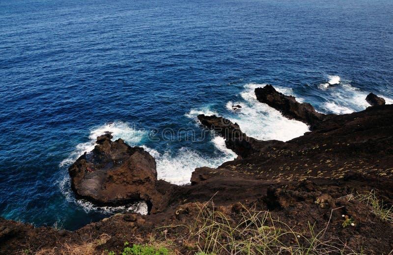 Łańcuch Powulkaniczni półwysepi obrazy stock