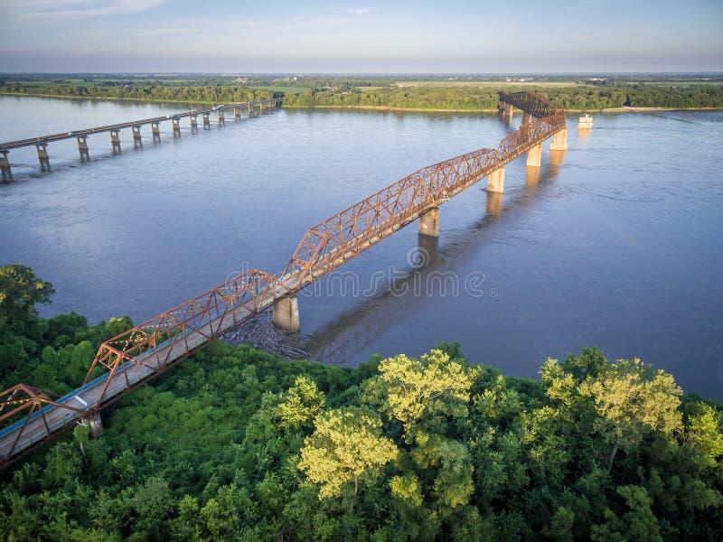 Łańcuch skała most obraz stock