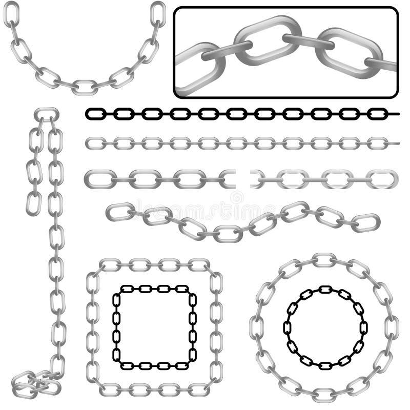 łańcuchy ilustracja wektor