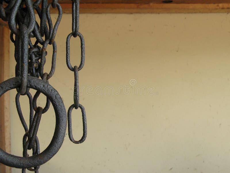łańcuchy rdzewiejący tło zdjęcie royalty free