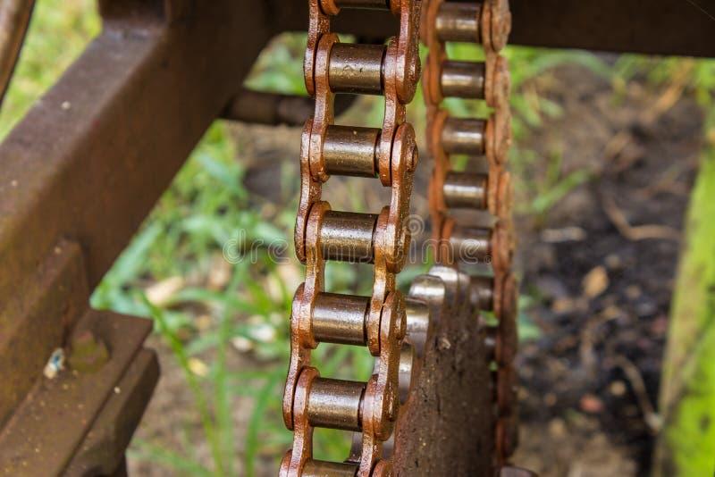 Łańcuszkowa maszyna obraz stock