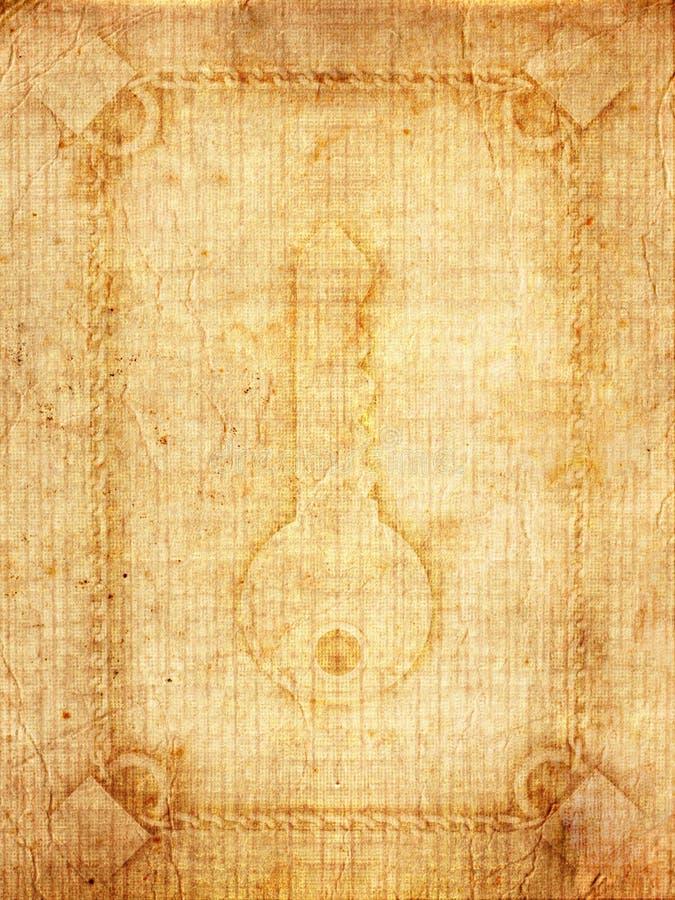 Download łańcuszkowego Kędziorka Stary Papier Zdjęcie Stock - Obraz złożonej z antyczny, upaćkany: 13341902