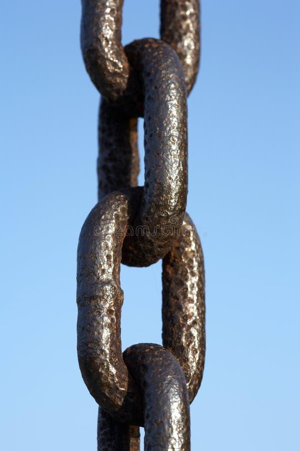 łańcuszkowy metalu obrazy stock