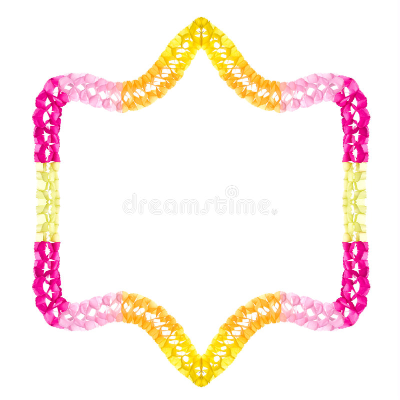 łańcuszkowy stron papieru obrazy stock
