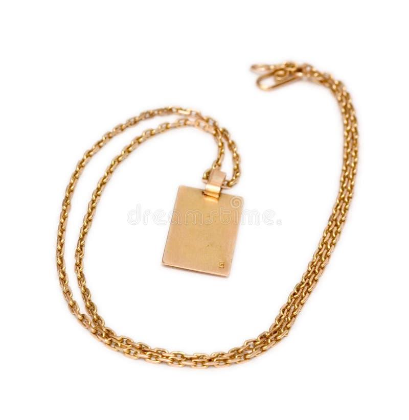łańcuszkowy złoto zdjęcia stock