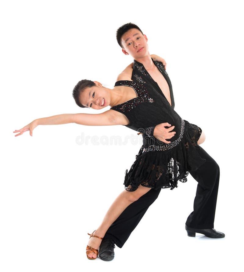 Łacińscy tancerze fotografia royalty free