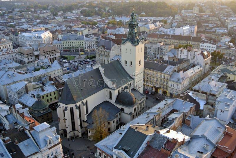 Łacińska katedra fotografia royalty free
