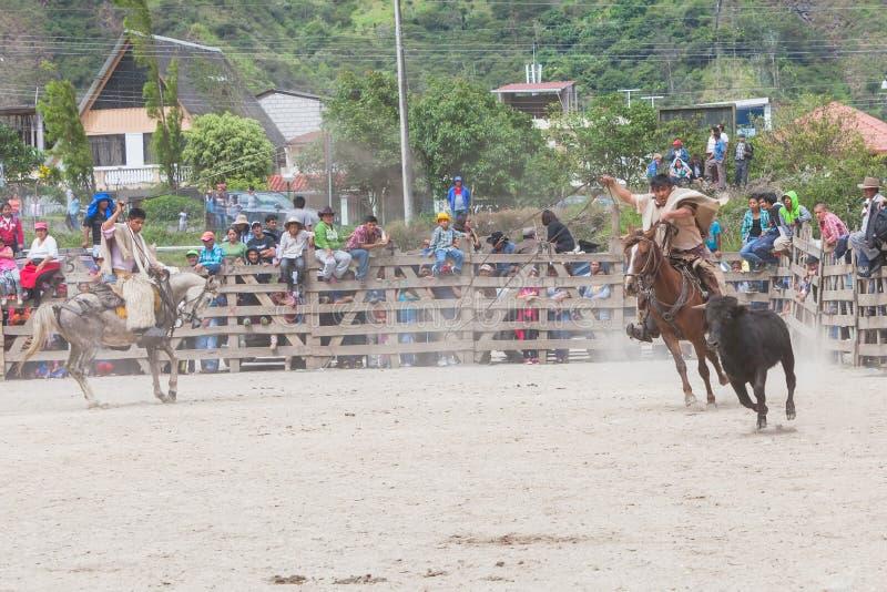 Łacińska kowbojska rywalizacja fotografia stock