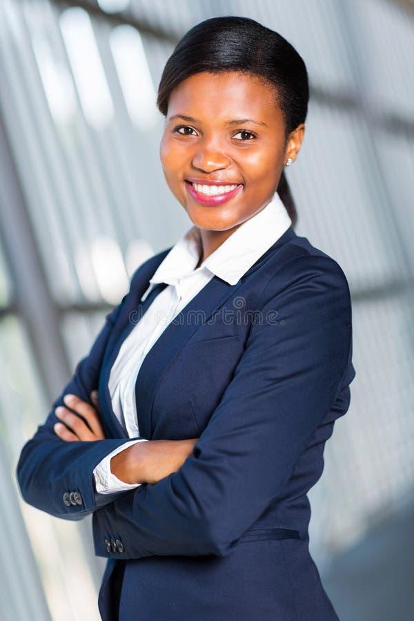 Ładna afrykańska kobieta obrazy royalty free