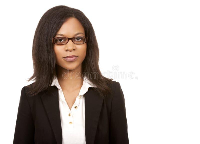 Ładna biznesowa kobieta zdjęcia royalty free