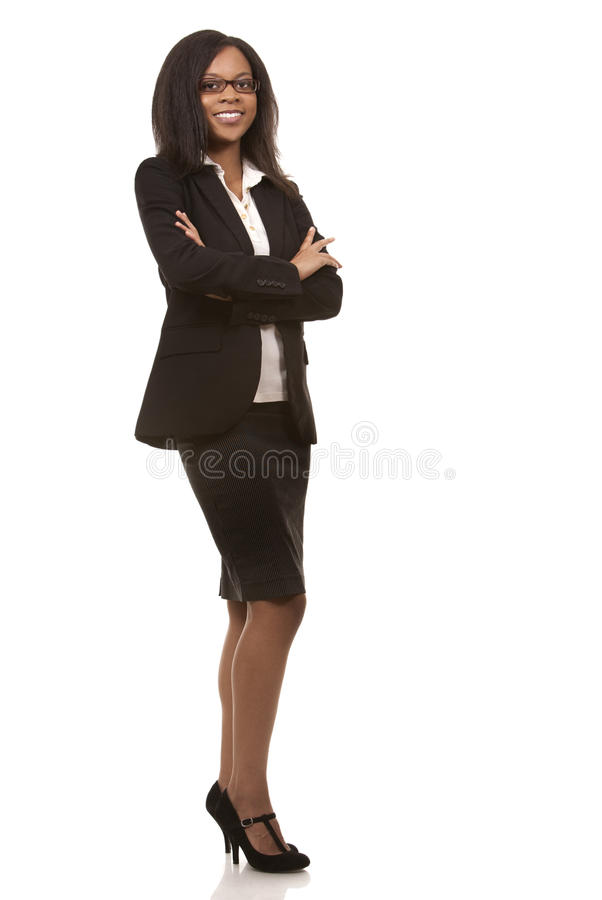 Ładna biznesowa kobieta zdjęcie stock