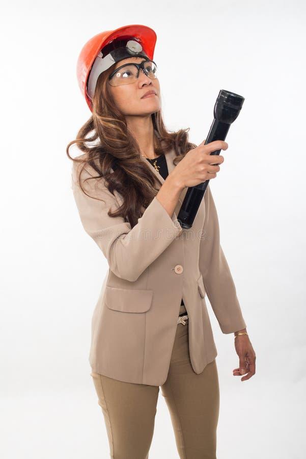 Ładna brunetka azjata kobieta zdjęcie stock