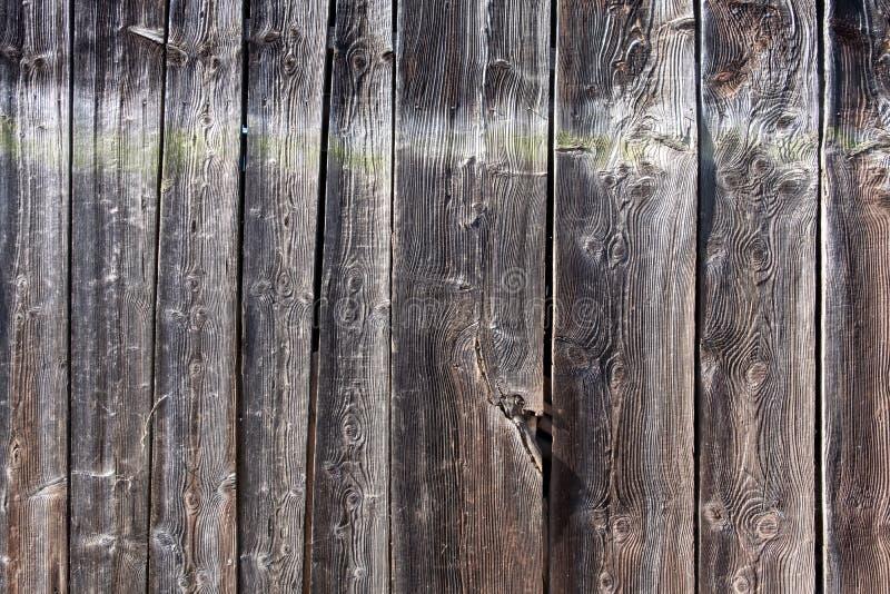 Ładna i beautyful Stara ciemna drewniana deska, deska, z naturalnymi wzorami, rysującymi od pogody, abstrakt, textured tło obrazy stock