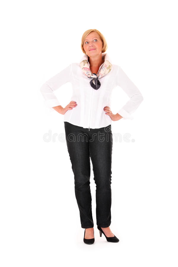 Ładna kobieta zdjęcia stock