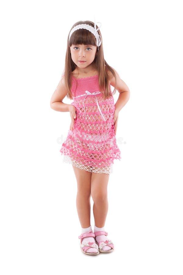 Ładna mała dziewczynka zdjęcie stock