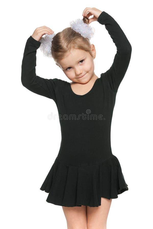 Ładna mała dziewczynka obraz royalty free