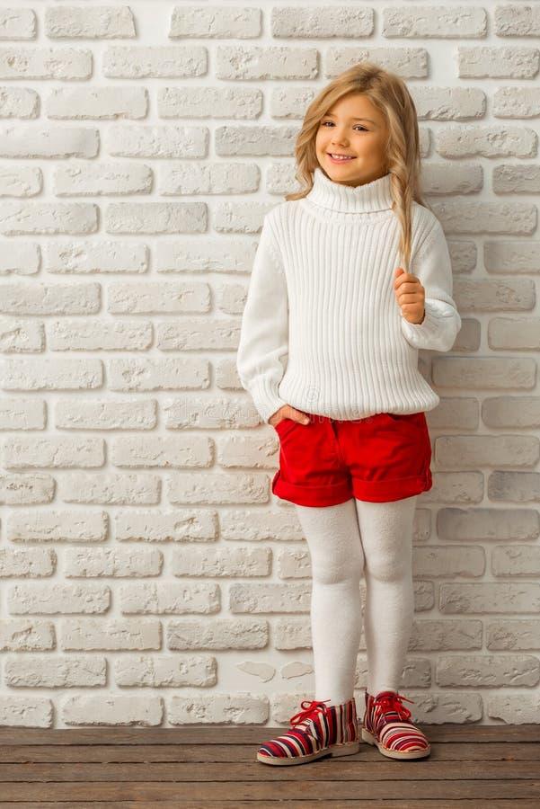 Ładna mała dziewczynka obrazy stock