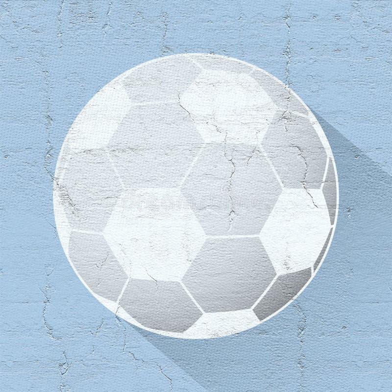 Ładna piłka royalty ilustracja