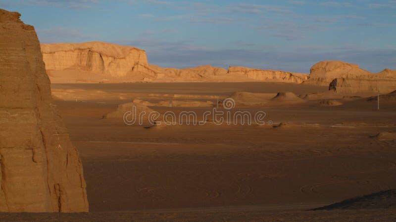 Ładna pustynia obrazy stock