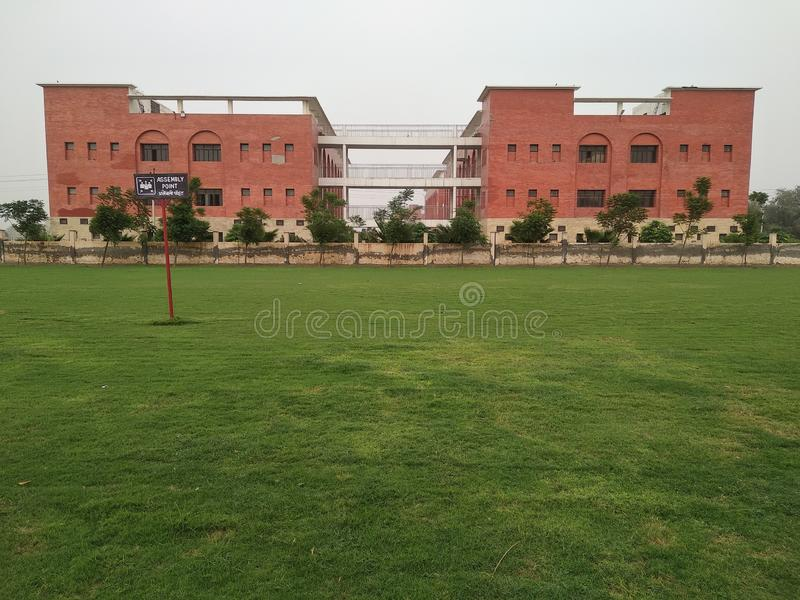Ładna szkoła w bagla Hisar ind fotografia stock